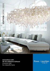 Rowa Leuchten Katalog Cover 2020